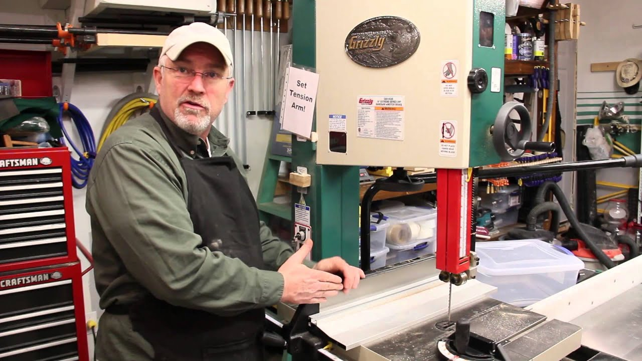 Grizzly 14 Band Saw: Lot #14: Grizzly 14