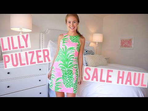 Lilly Pulitzer Sale Haul 2016 | TRY ON