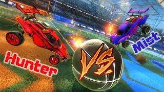 Hunter VS Mist | Дуэль 1на1 | Rocket League