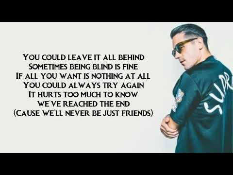 G Eazy Just Friends lyrics ft Phem