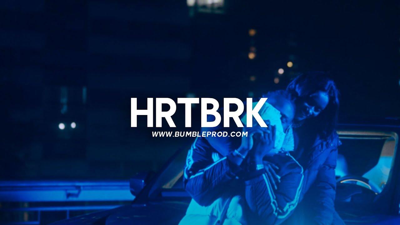 """Kaza x Ninho Instru Type Beat Mélodie Été - """"HRTBRK""""   Instru Rap 2021"""