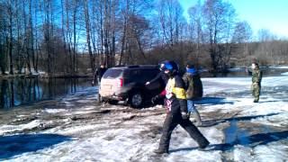 Спасение из-подо льда. #Mitsubishi #Pajero #Duster(, 2015-03-14T17:11:49.000Z)