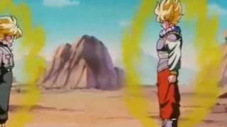 Goku contro Trunks del futuro italiano