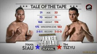 Tim Tszyu Ivana Siau FULL FIGHT HD