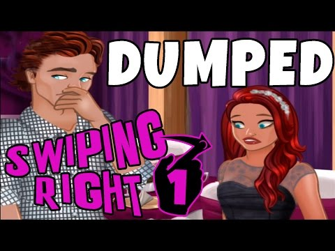 SWIPING RIGHT - DUMPED! #1 (Episode Mobile Game)