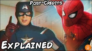 Spider-Man Homecoming Post-Credits Scene Explained