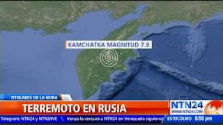Terremoto De Magnitud 7,4 Sacude A Rusia