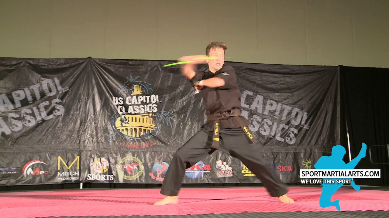 Cole Presley - Team Paul Mitchell karate