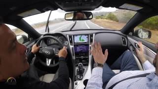 Test Drive Infiniti Q60 Red S 2017 con Gerardo Carmona, Gerente Global de Producción