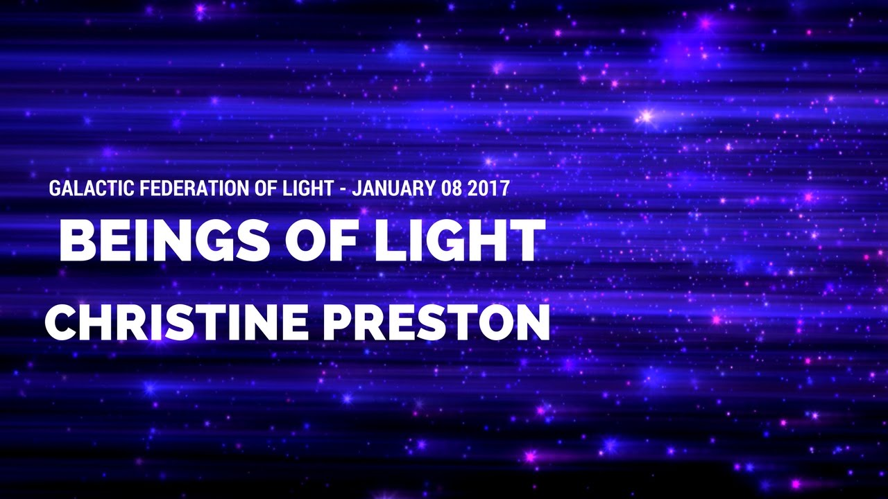 For Introduction: Who are the Beings of Light? January 9