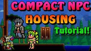 Compact NPC House Design - Terraria