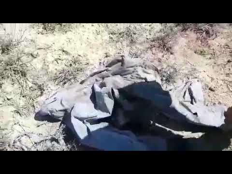 В Жанаозене нашли останки человека и вещи, Мангистау