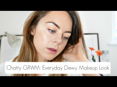 GRWM - Chatty Everyday Dewy Makeup Look - Mineral Makeup Tutorial