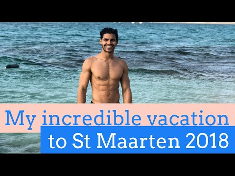 summer vacation 2018 to the beautiful beaches of Sint Maarten