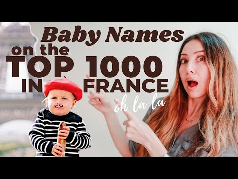 FRENCH BABY BOY NAMES with MEANINGS & PRONUNCIATIONS | TOP 1000 FRENCH NAMES for BOYS | RAQUEL CRUZ