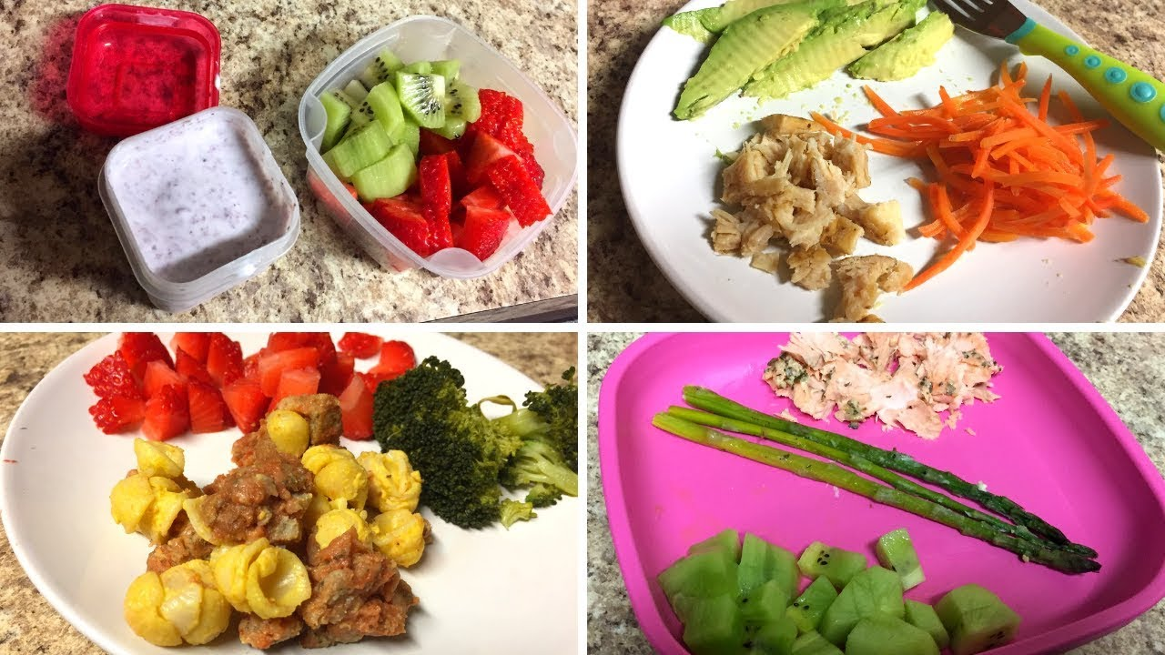 HEALTHY TODDLER MEAL IDEAS | 11 Month Old Baby Food ...