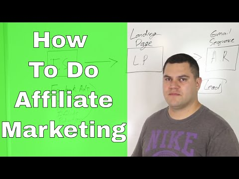 How To Do AFFILIATE MARKETING – My Strategy EXPLAINED