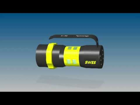 1 High power LED Dive Light | SWES - Sea Water Energy System