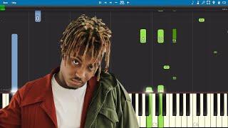 Juice WRLD - Robbery - Piano Tutorial