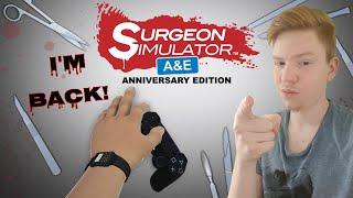Onkel Doktor ist wieder da! - Let's Play Surgeon Simulator A&E #6