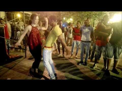 Salsa Dancing in Santiago, Cuba
