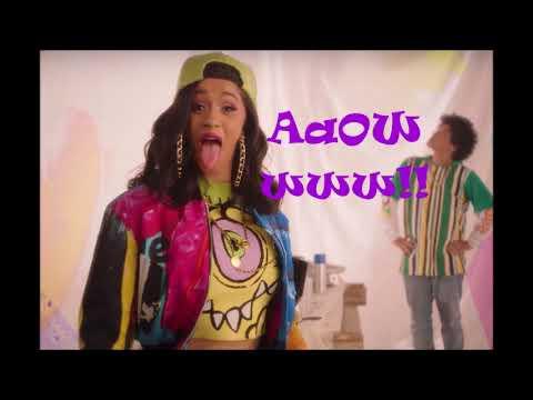 Bruno Mars- Finesse Ft Cardi B (Remix) one (1) hour long loop [Long Version]