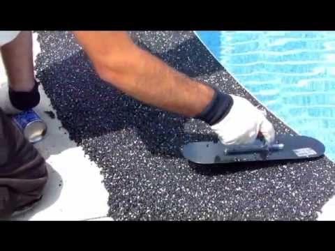 Rubber Pool Deck Surfacing You
