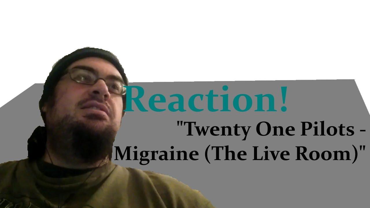Reaction! | Twenty One Pilots - Migraine (The Live Room ...