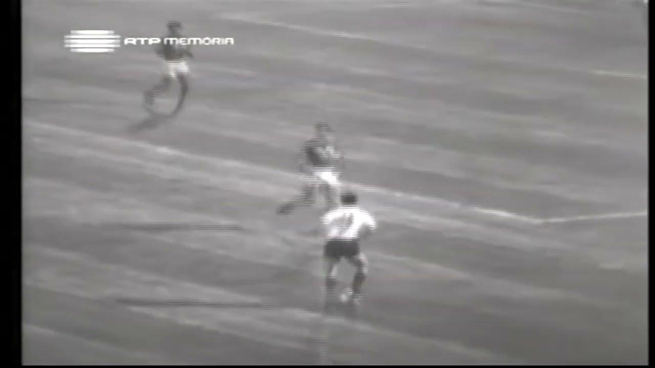 Peres (Sporting) no Portugal - 3 x Irão - 0 da Minicopa 1972 - Fase Grupos