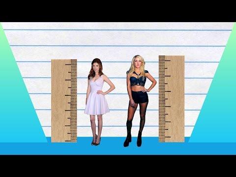 How Much Taller? - Anna Kendrick vs Ellie Goulding!
