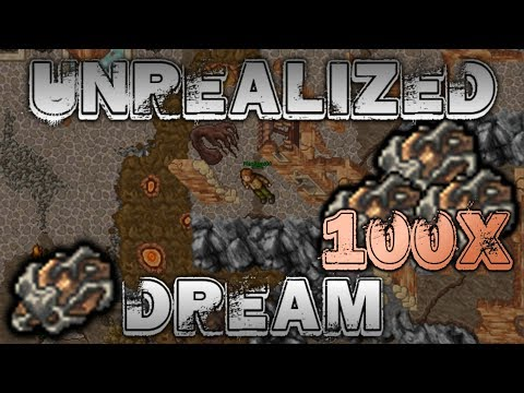 Najdroższy opening!   Tibia - 100x Unrealized Dream
