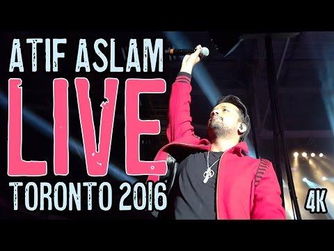 Atif Aslam - Zindagi Aa Raha Hoon Main LIVE Toronto STAGE INTRO 2016 in 4K