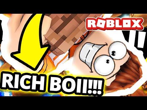 Roblox: BILLION DOLLAR TRADE IN CASE CLICKERS! (I'm Rich)