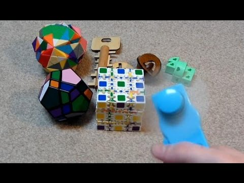 Taobao Unboxing: 5x5 Gear Cube, mf8 Pentagram, Wooden Puzzles & More
