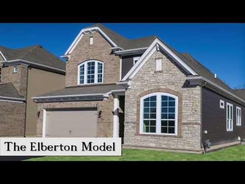 The Elberton Home Plan at Enclave at the Grove in Glenview, IL
