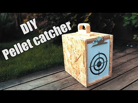 Pellet catcher you can make yourself - improve your shooting accuracy.