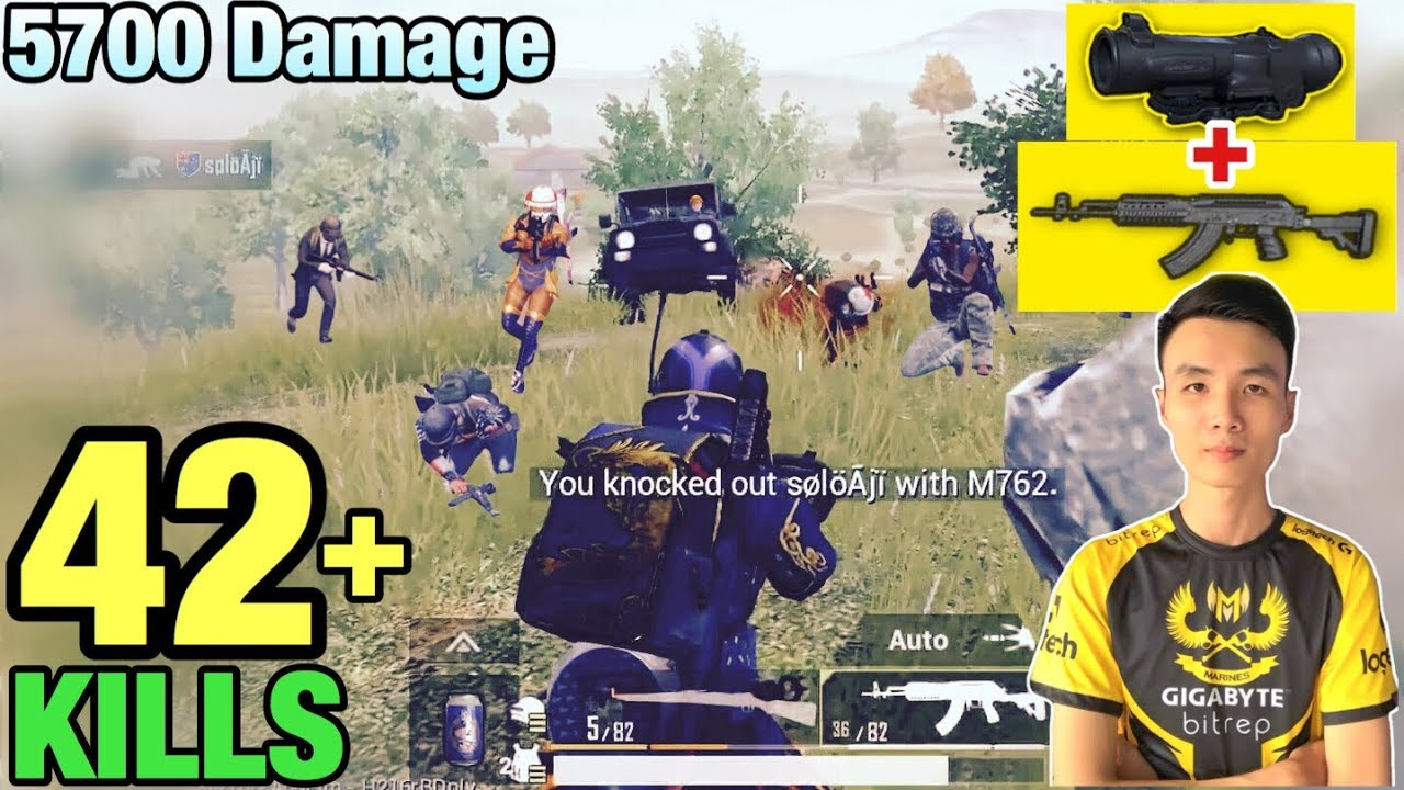 Download KING OF M762 | 42 KILLS SOLO VS SQUAD | NEW WORLD RECORD IN PUBG MOBILE