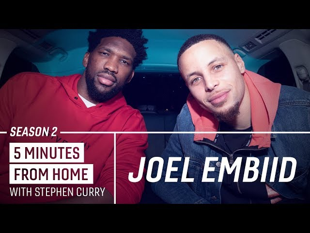 Joel Embiid Knows How to Make Stephen Curry Go 0-for-10 from Three | 5 Minutes from Home