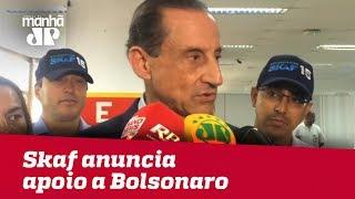 Sem chances de Meirelles, Skaf anuncia apoio a Bolsonaro em eventual segundo turno