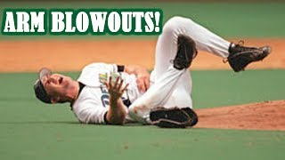 MLB | ARM BLOWOUTS! (TERRIBLE ARM INJURIES) | 1080p HD
