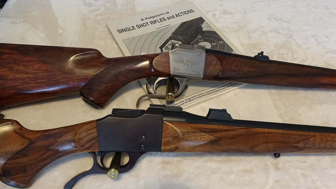 Astonishing Striker Fired Falling Block Rifle