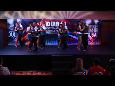 Kizomba Fever UAE Performing @ Dubai International Dance Festival 2014
