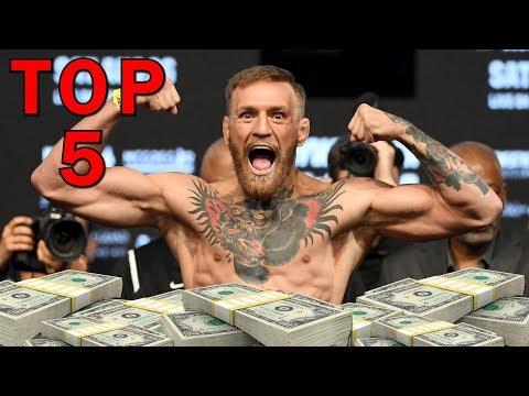 Top 5 nejbohatších sportovců světa