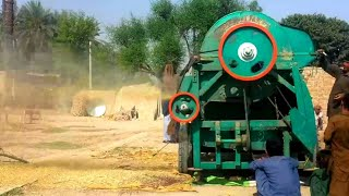 New Tractor, Harvester Videos Village life in Punjab, Pakistan