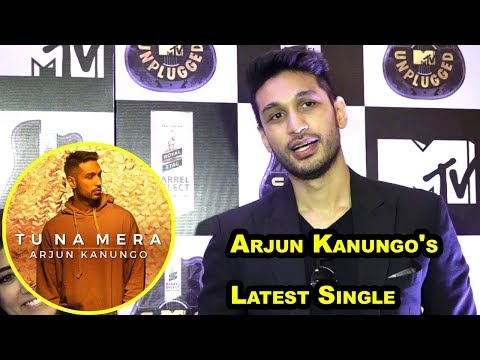 Arjun Kanungo Talking About His Latest Single  - Tu Na Mera