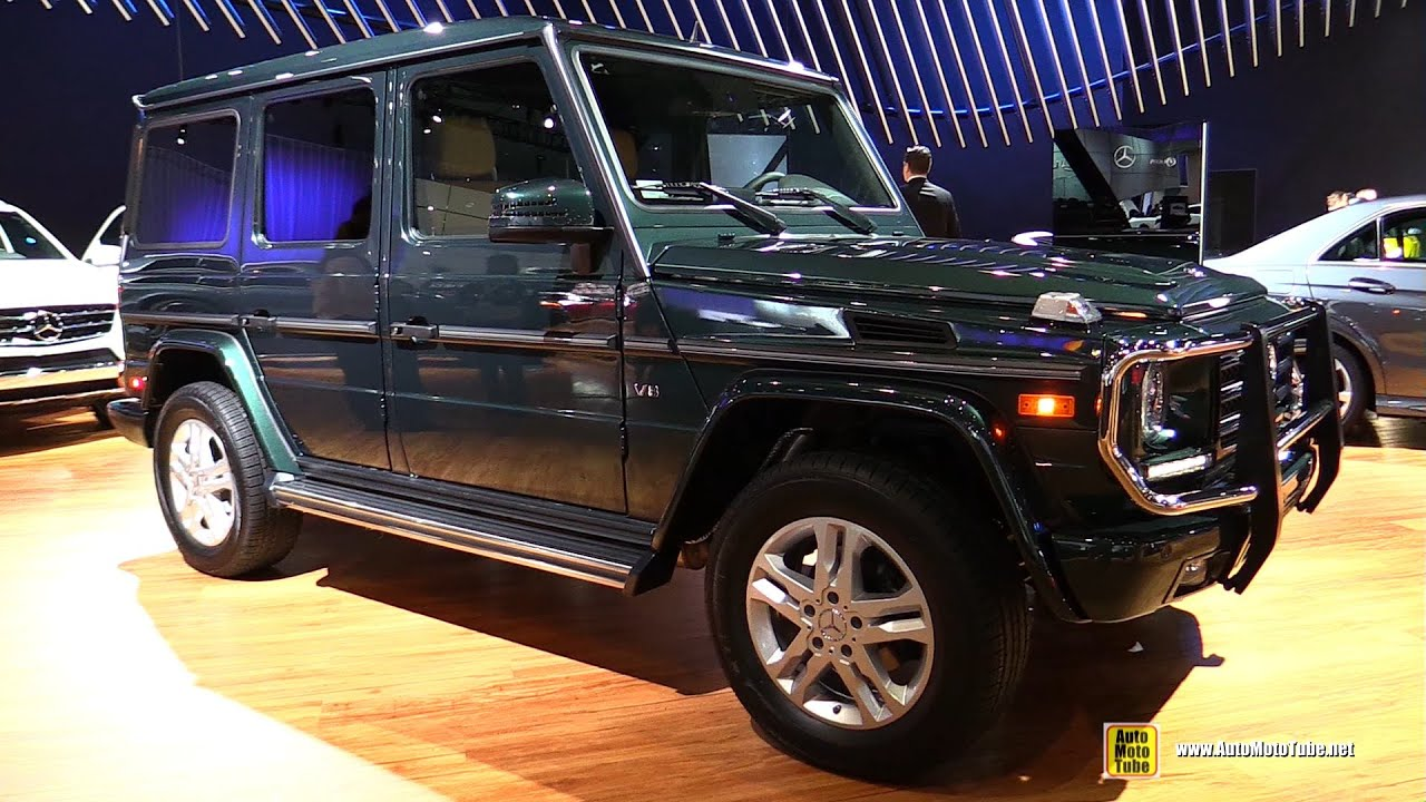 2015 mercedes benz g class g550 exterior and interior walkaround 2014 la auto show youtube - Mercedes G Interior 2015
