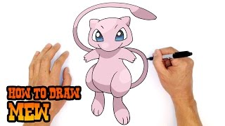 How to Draw Mew | Pokemon