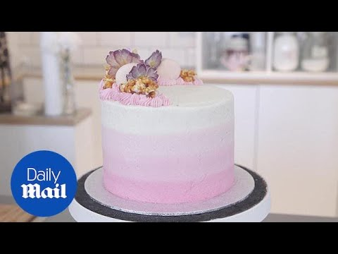 Three brilliant baking tips to make the perfect cake - Daily Mail