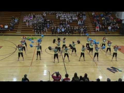 Plainfield Central Poms PCHS Beach Boys Surfin' USA pom dance competition routine 2010 TDI Minooka