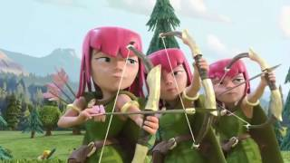 [60FPS] Clash Of Clans Movie - Full Clash Of Clans Movie Animation